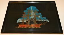 VERY RARE ~ Couroc of Monterey Statue of Liberty Tray ~ Vintage 1960's