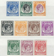 Royalty Singapore Stamps (1824-1963)