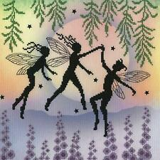 Bothy Threads Cross Stitch Kit - Fairy Dance - Fairy design developed from artwo