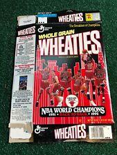Chicago Bulls Michael Jordan Wheaties Box Championship Edition 1991/1992 18 Oz.
