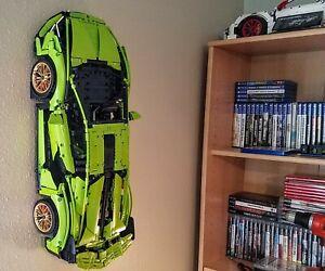Ultimate Display wall mount for Lego Technic Car Porsche Bugatti Lamborghini GT3