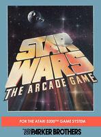 Star Wars: The Arcade Game For Atari Vintage
