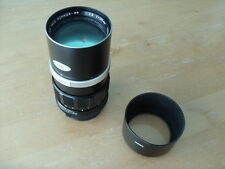 MINOLTA SRT101 ETC FIT ROKKOR-PF 1:2,8 135mm LENS WITH HOOD