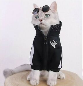 Cat Clothing Winter Clothes Hoodies Kitten Outfits Cat Coats Fashion Jacket Coat