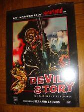 Dvd DEVIL STORY(horreur,no ogroff,vhs,mort vivant,zombie,sideshow,evil dead)neuf