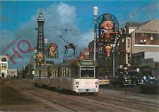 Picture Postcard::Blackpool Tram 676