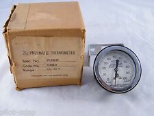 NEW ~ JOHNSON SERVICE CONTROL ~ PNEUMATIC THERMOMETER ~ PART # T5502-2, 49-23049