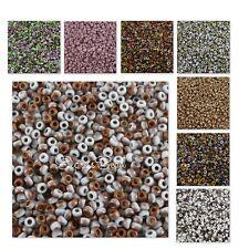 UNIONS 8/0 Miyuki & Czech Seed Beads WHITE OPAQUE/402 22 Gr