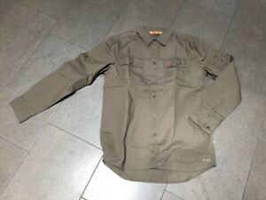 FJÄLLRÄVEN - Singi Trekking Shirt - Hemd, Herren, Gr. M, Khaki