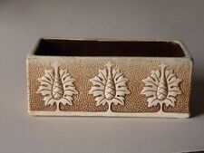 Early Bretby Art Pottery flower planter circa 1890s