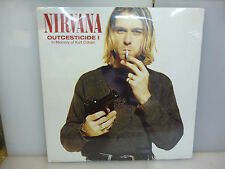 NIRVANA-OUTCESTICIDE I. RARITIES-BLACK VINYL LP-NEW.SEALED