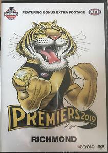 AFL Premiers 2019 Richmond  - DVD - NEW Sealed Region 4