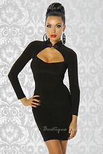 Langarm Damenkleider für das kleine Schwarze