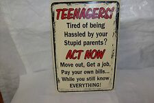 Teenager Sign
