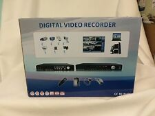 Longse LS-9104HK2HHB, DVR & Camera Kit, no harddrive, 4-channel / 4 IR Camera