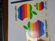 Apple Computer Decal Stickers Set Of 3 Rainbow vintage ,old, new