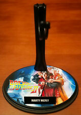 BACK TO THE FUTURE II - MARTY MCFLY - BASE STAND CUSTOM 1/6 - FOR HOT TOYS