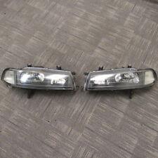 JDM 92-96 Honda Prelude OEM Stanley Black Housing Headlights