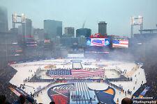 Winter Classic 2017 Chicago BLACKHAWKS St. Louis Blues 11x14 Anthem photo