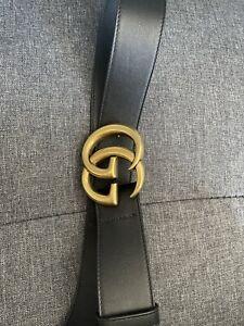 Gucci GG Marmont Belt Leather Authentic *READ DESCRIPTION*