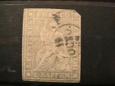 Switzerland stamps 1854/62; 4 Stamps (Strubel); all used