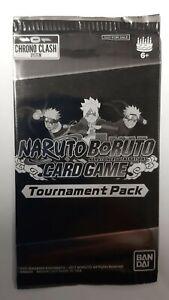 Naruto Boruto Chrono Clash Card Game Tournament Pack NEW SEALED