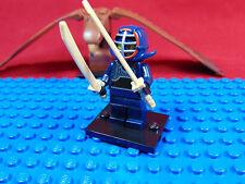 LEGO-MINIFIGURES SERIES 15 KENDO FIGHTER 5,6,7,8,9,10.11.12.13.14[15] & LEAFLET