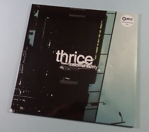 THRICE The Illusion Of Safety NEW Black Vinyl LP Record SEALED 💥 Emo Punk Rock