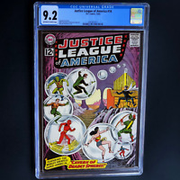 JUSTICE LEAGUE OF AMERICA #16 (DC 1962) 💥 CGC 9.2 OW-W PGs 💥 ONLY 7 HIGHER!
