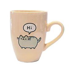 Pusheen 'Hi' Cat Character Latte Coffee Tea Mug - Official & Licensed **NEW**