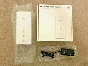 Huawei B618s-22d 4G LTE Modem Router - White