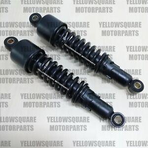 Rear Shock Absorbers Kawasaki EL250 EL252 ER-5 ER500 Pin/Pin 300mm Shocks Black