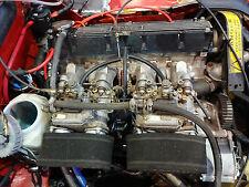 Jensen Healey Twin Dellorto 45 Carb Setup    Lotus 907 Twin 45 Carburettors