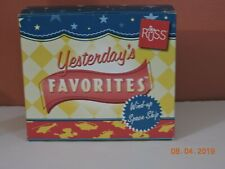Russ Yesterday's Favorites tin wind-up spaceship new