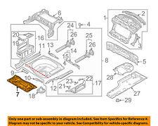 BMW OEM 06-10 M5 Rear Body-Front Floor Pan 41127111223