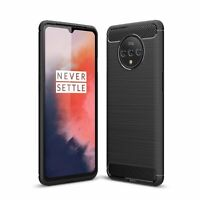 Oneplus 7T Case Phone Cover Protective Case Bumper Case Black