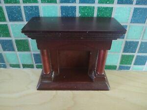 Vintage Miniature Dollhouse Fireplace