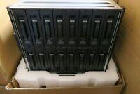 New HP BladeSystem C7000 Gen2 16x Blade Slot Chassis Enclosure BP386A + 6x PSU
