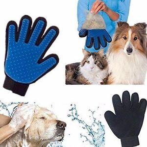 Dog Grooming Glove Mitt Pet Dog Cat Massage Groom Stripping Hair Remover Brush