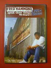 Fred Hammond: Speak Those Things POL - Chapter 3  Live In Chicago DVD RARE HTF