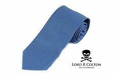 Lord R Colton Studio Tie - Topaz & Gray Dobby Woven Necktie - $95 Retail New