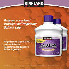 Kirkland Signature LaxaClear, 1700 Grams - Compare to MiraLAX® Active Ingredient