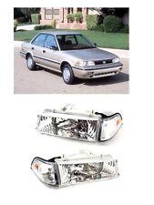88 92 Toyota Corolla AE90 AE92 93 94 Chrome Headlights Headlamps E90 EE90