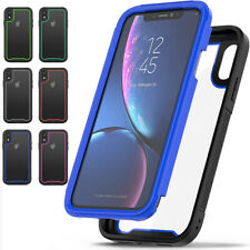 Drop Protection Heavy Duty Rubber Bumper Hard Case For iPhone 11 Pro X XS Max XR