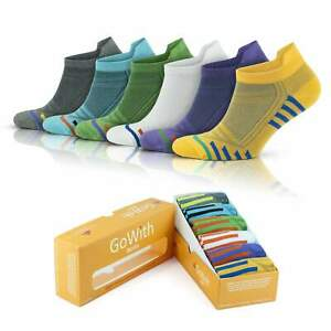 GoWith Women's Bamboo Colorful Short Running Socks | 6 Pairs | Model: 2150