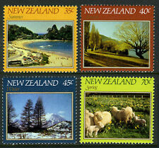 New Zealand 748-751, MNH. Landscapes in Summer, Autumn, Winter, and Spring, 1982