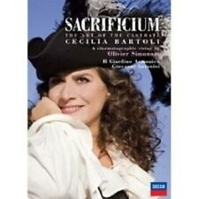"CECILIA BARTOLI ""SACRIFICIUM"" DVD NEU"
