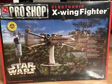 AMT/ERTL Pro Shop Electronic X-wing Fighter - Star Wars Model Kit - New