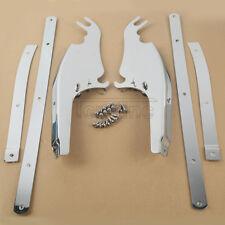 Windscreen Windshield Mount Bracket Kit For Harley Softail FLS FLST FLSTC 2000+