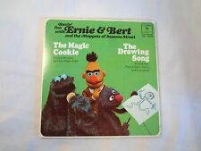 Sesame Street Ernie & Bert The Drawing Song / Magic Cookie Rare Record Muppets